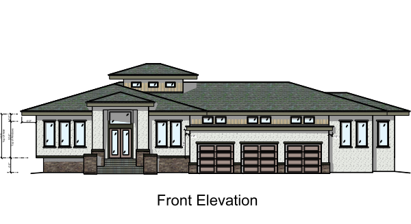 Babbard Front Elevation
