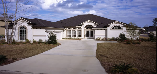 custom home in florida