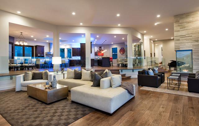 custom home trends great room