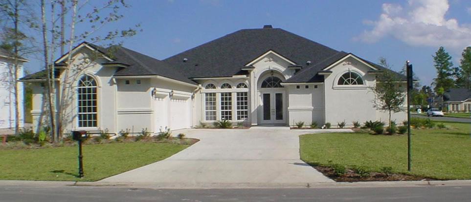 Custom Home Floor Plan CBOF